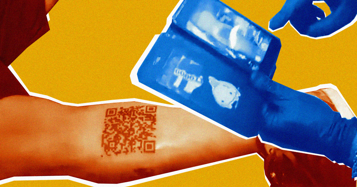 A Guy Got a QR Code Tattoo and Then Someone Broke the Link 1