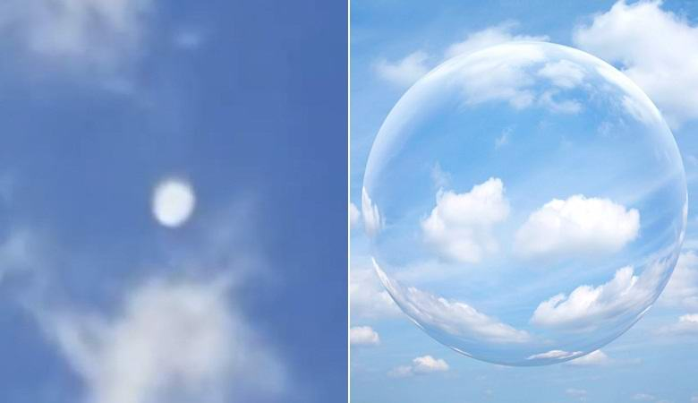Mysterious huge white orb flew over Texas 86