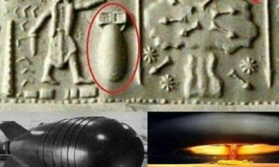 Atomic Bomb Depicted in Ancient Seal? No. Modern Art. 90