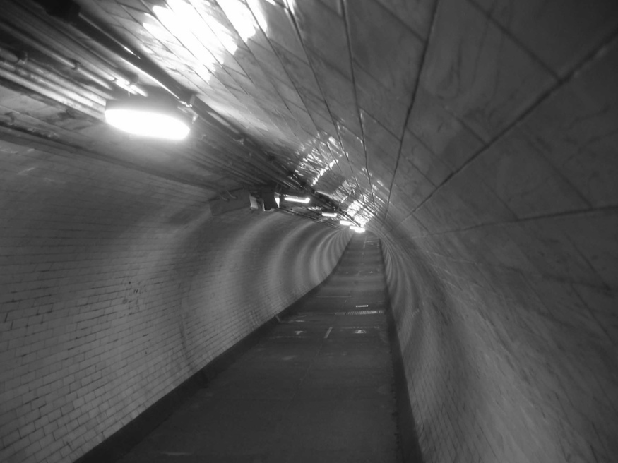 Greenwich foot tunnel.