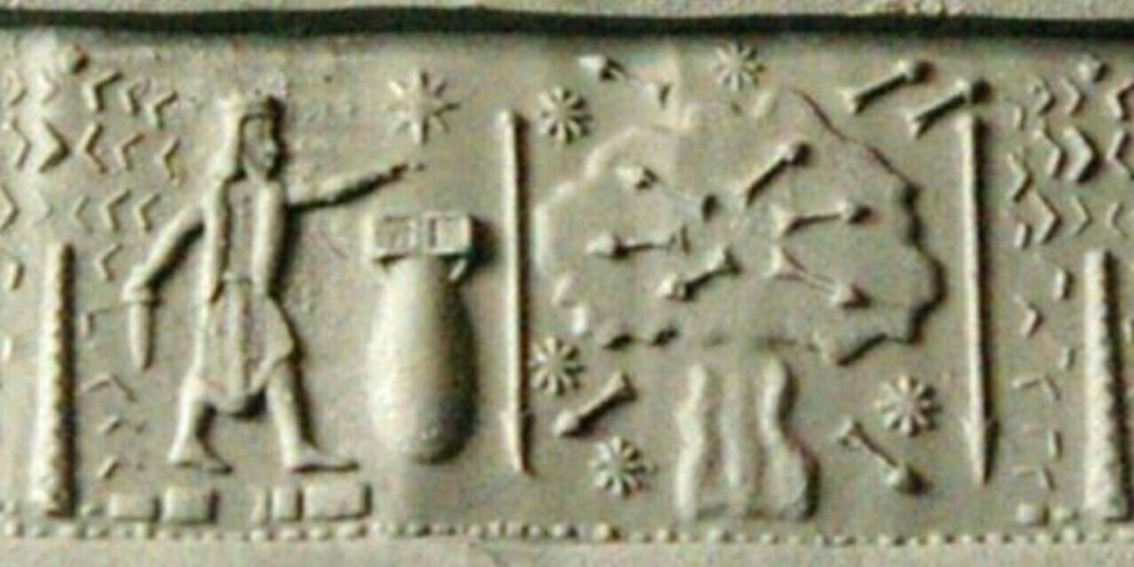 Atomic Bomb Depicted in Ancient Seal? No. Modern Art. 8