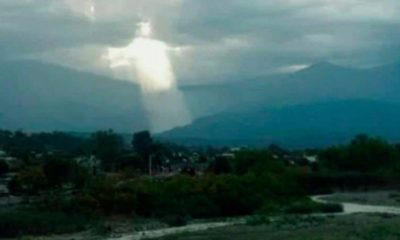 Giant Jesus Figure Appears Above Argentinian City 87