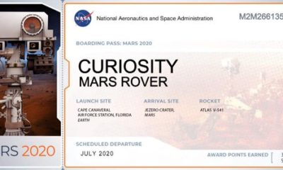Your name can be on Mars in the year 2021 90