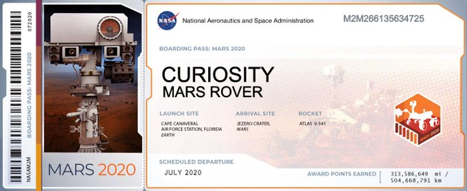 Your name can be on Mars in the year 2021 11
