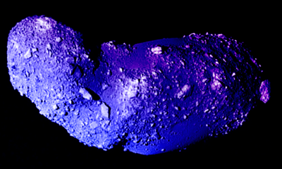 A Japanese Probe Just Found Water on an Asteroid 103