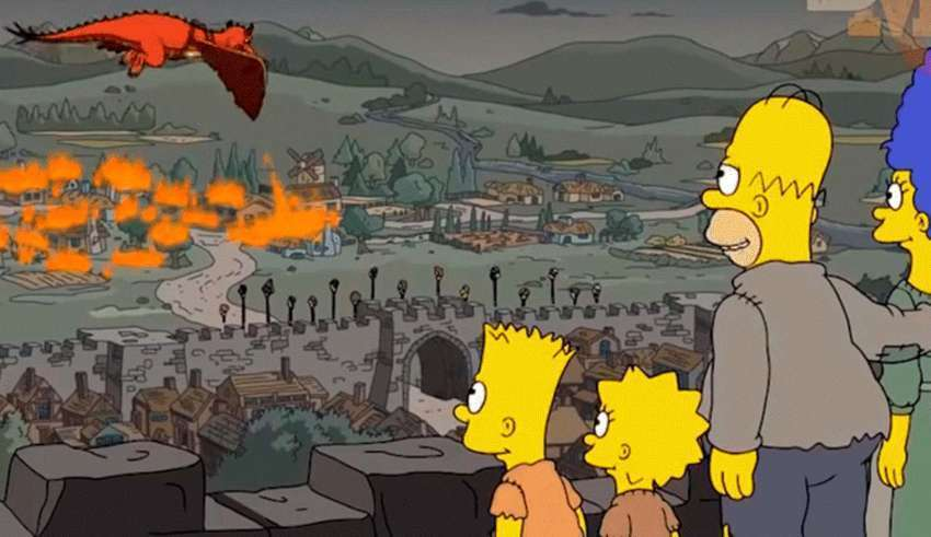 The new prediction fulfilled by The Simpsons: episode 5 of the last season of Game of Thrones 1