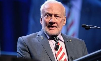 Buzz Aldrin calls for mass migration to Mars 91