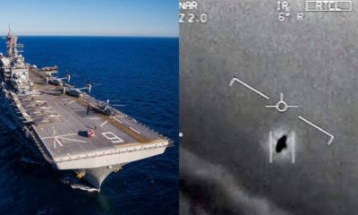 UFOs are invading the US military airspace. many times a month, says the Navy 93
