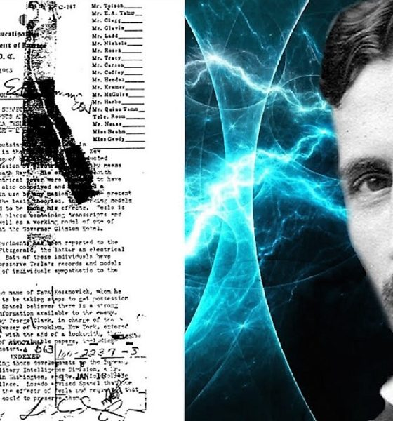 300 secret documents seized after the death of Nikola Tesla 87