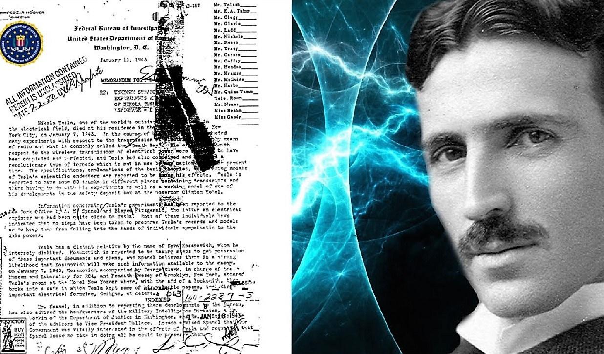 300 secret documents seized after the death of Nikola Tesla 1