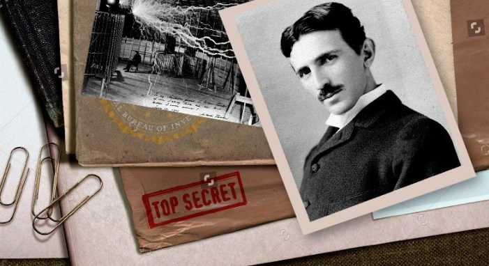 documents seized after the death of Nikola Tesla