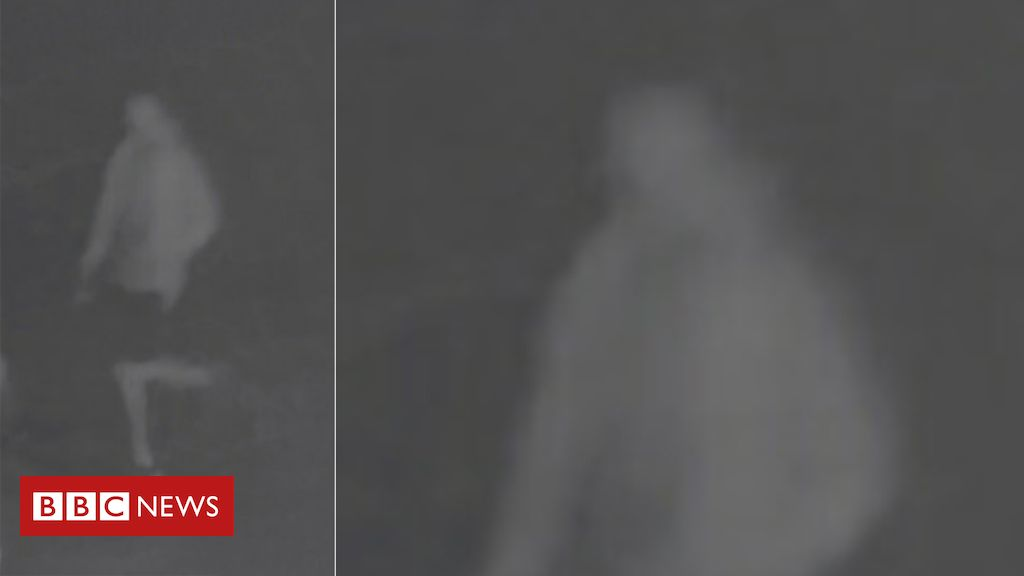 'Have you seen this… ghost?' – BBC News 1
