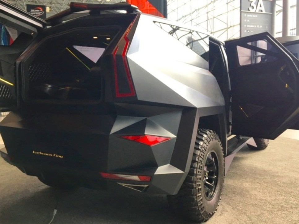The Karlmann King is a $2 million enormous ultra-luxury SUV built upon a Ford F-550 105