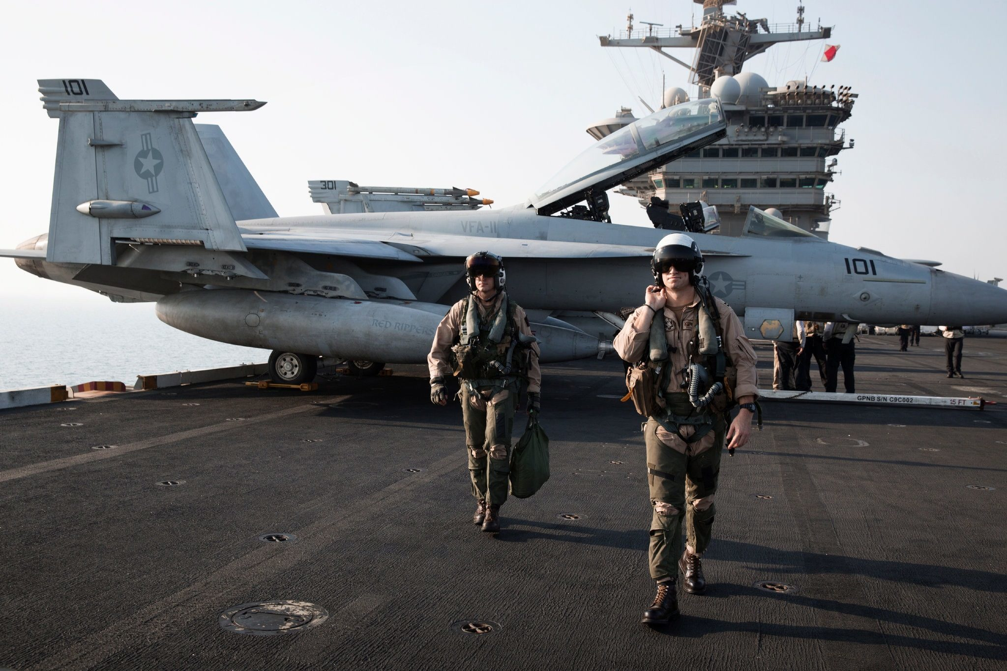 'Wow, what is that?' Navy pilots report Unexplained Flying Objects 4