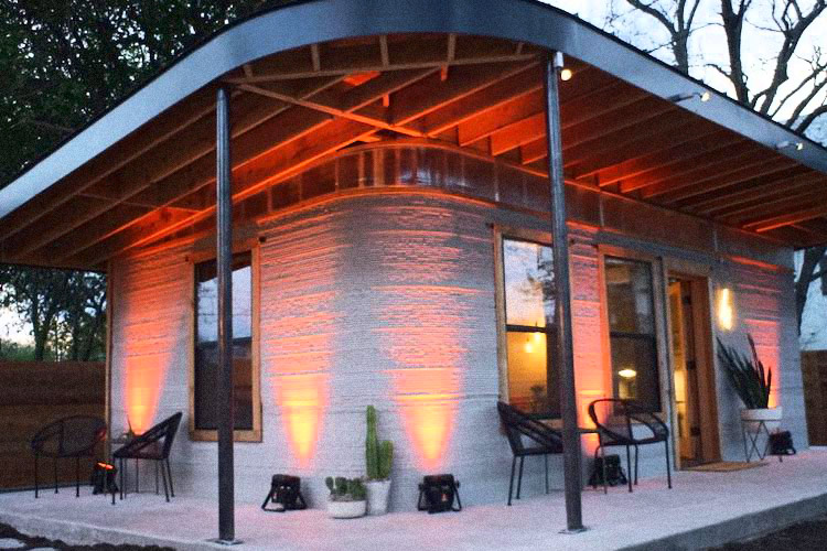 The First 3D-Printed House in the US was so Successful, 50 More are Being Made 1