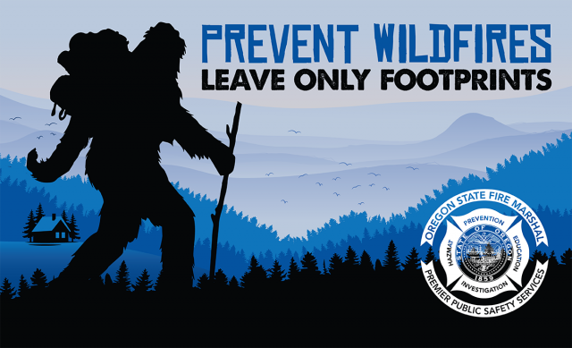 Only You, Smokey and Bigfoot Can Prevent Forest Fires 96