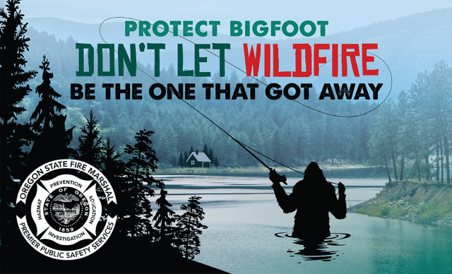 Only You, Smokey and Bigfoot Can Prevent Forest Fires 97