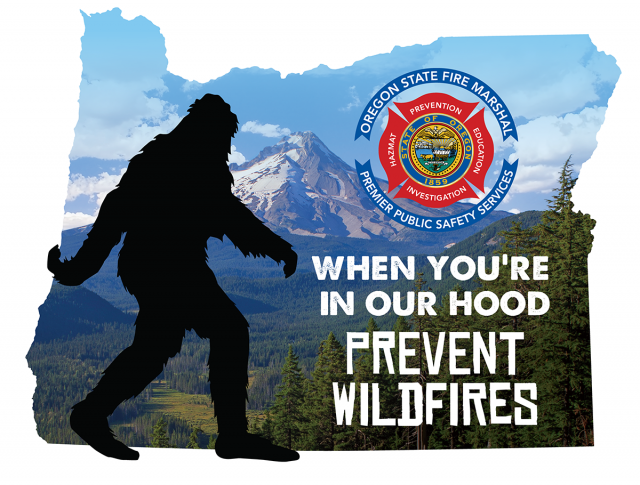 Only You, Smokey and Bigfoot Can Prevent Forest Fires 98