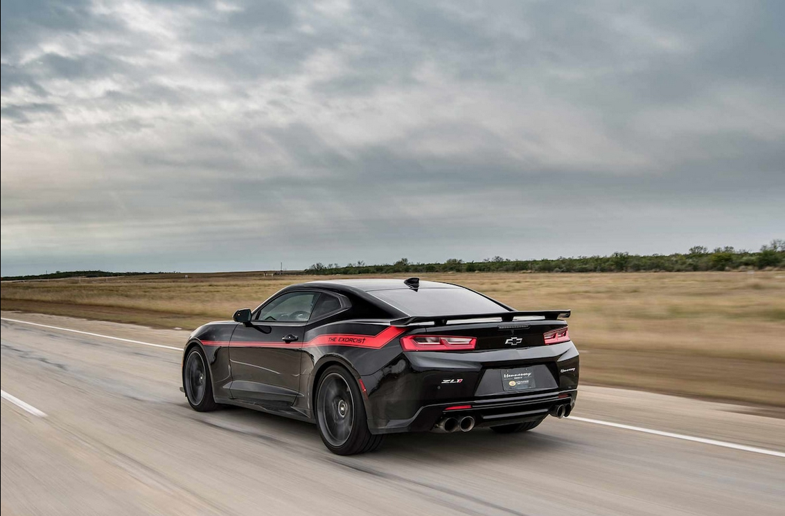 "New Camaro ""The Exorcist"" Is The Fastest Muscle Car In The World At 217 MPH 4"