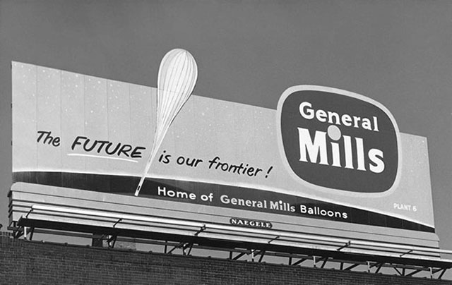 General Mills Project Skyhook billboard