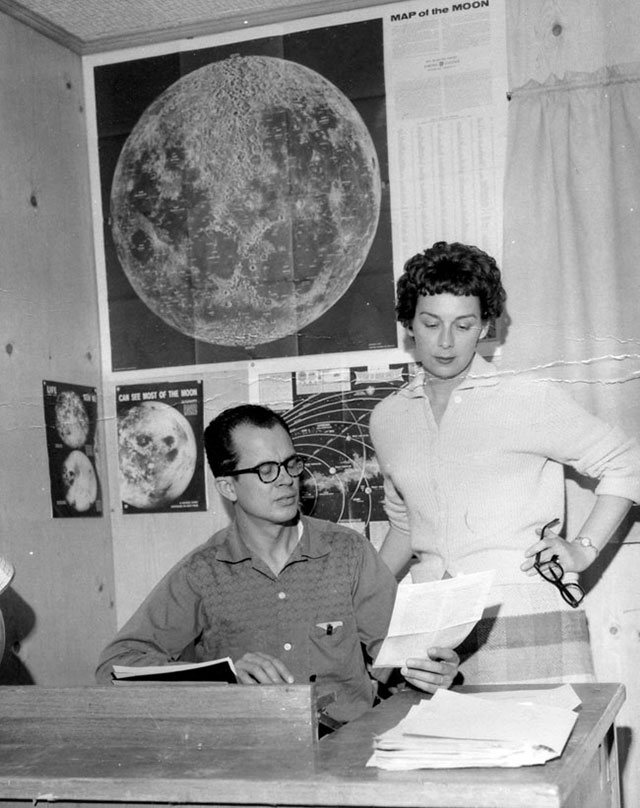 UFO researchers Jim and Coral Lorenzen