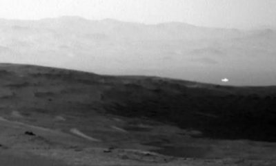 Mysterious Light Seen in Mars Photograph 112