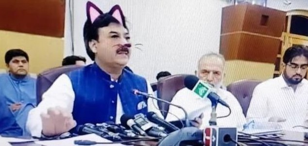 Cat filter blunder turns conference in to a farce 12