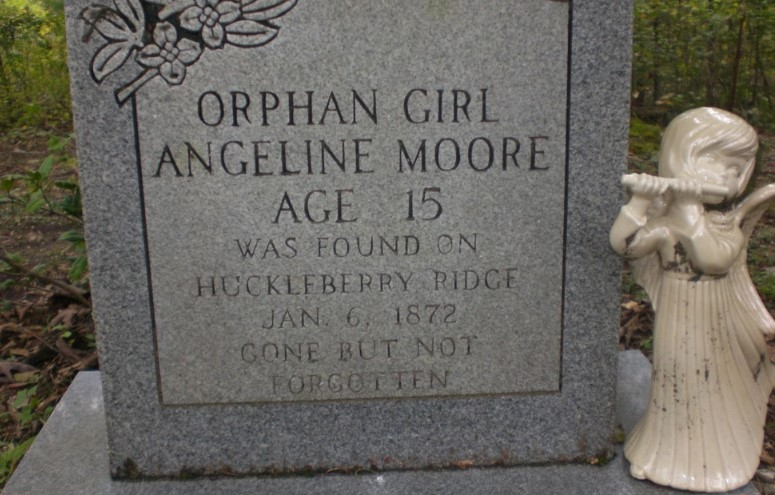 "Angeline Moore's ""Orphan Girl"" Tombstone Story 1"