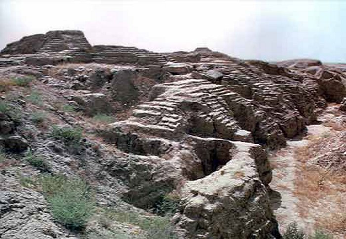 Ruins of the Assyrian city of Ashur