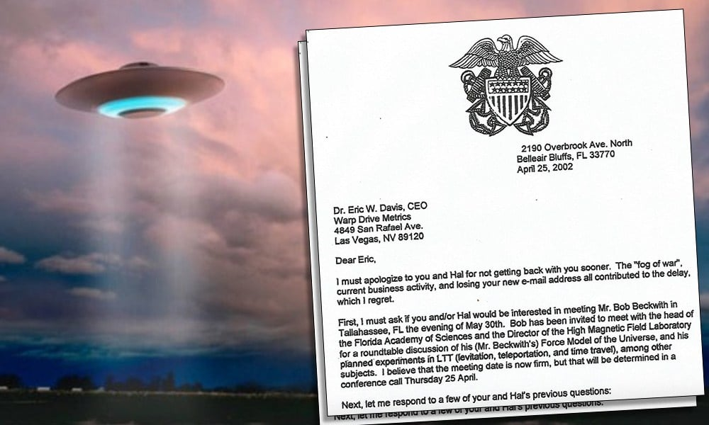 Video: The Most Significant Leak About Extraterrestrial Craft Just Went Public 1