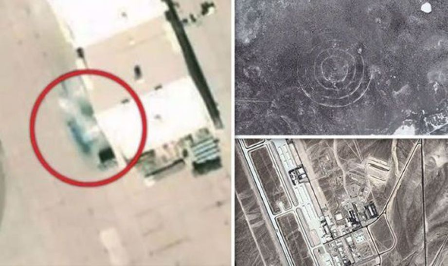 Area 52 UNCOVERED? Mysterious aircraft at secret US base 'intentionally BLURRED' by Google 89