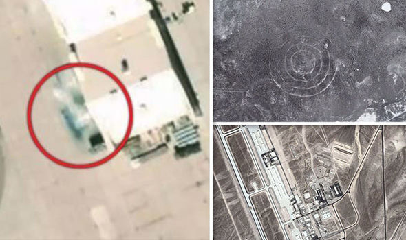 Area 52 UNCOVERED? Mysterious aircraft at secret US base 'intentionally BLURRED' by Google 88