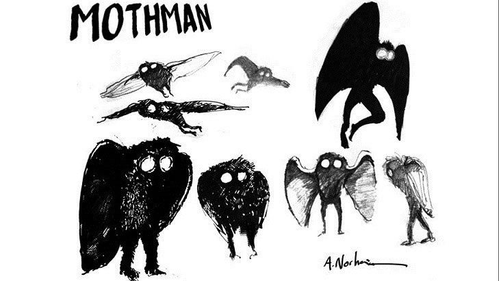 Staff claimed to have seen creepy Mothman-like creature before blast 86