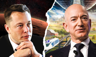Elon Musk and Jeff Bezos have profound visions for humanity's future in space. Here's how the billionaires' goals compare 100