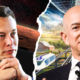 Elon Musk and Jeff Bezos have profound visions for humanity's future in space. Here's how the billionaires' goals compare 98