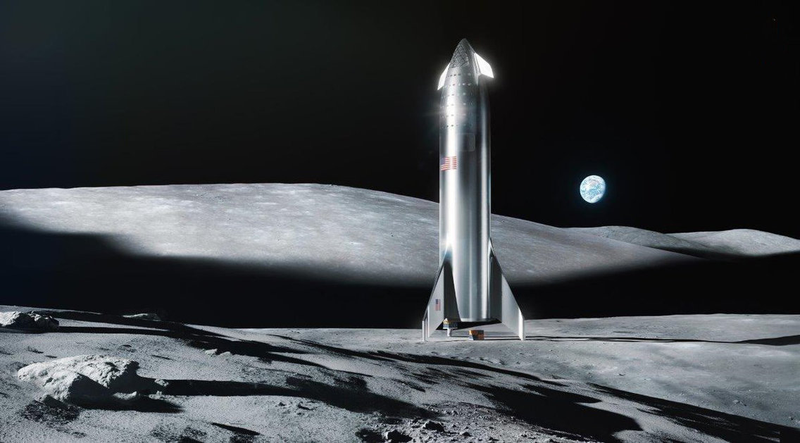 Elon Musk says SpaceX could land on the moon in 2 years. A NASA executive says 'we'll partner with them, and we'll get there faster' if the company can pull it off. 62