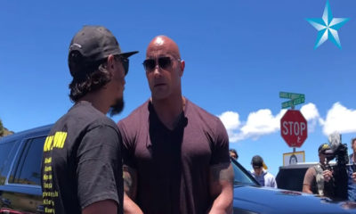 Dwayne 'The Rock' Johnson Visits Mauna Kea Protests to Lend Support 89