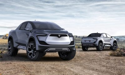 Tesla Announces Electric Pick-Up Truck That Will Cost Under $50,000 142