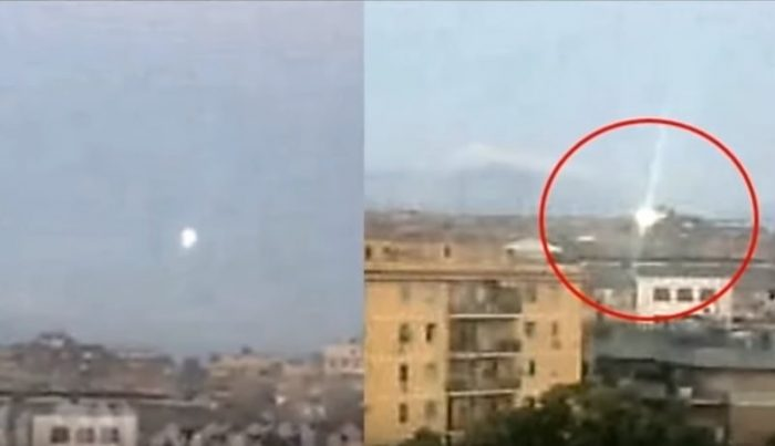 Theorists Claim Glowing Orb Over Rome May Be Alien Technology 1