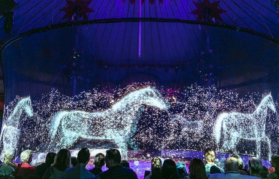 """Circus Uses """"Cruelty Free"""" Animal Holograms Instead Of Live Animals 1"""