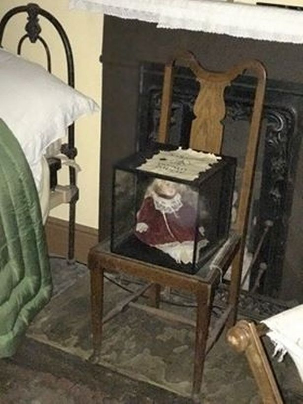 Haunted doll is heard saying 'I want to burn your eyes' 92