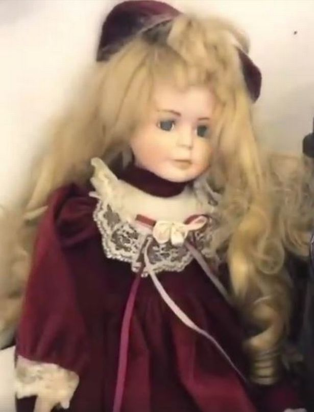 Haunted doll is heard saying 'I want to burn your eyes' 91