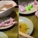 A video shows a piece of raw zombie meat crawling out of a plate 92