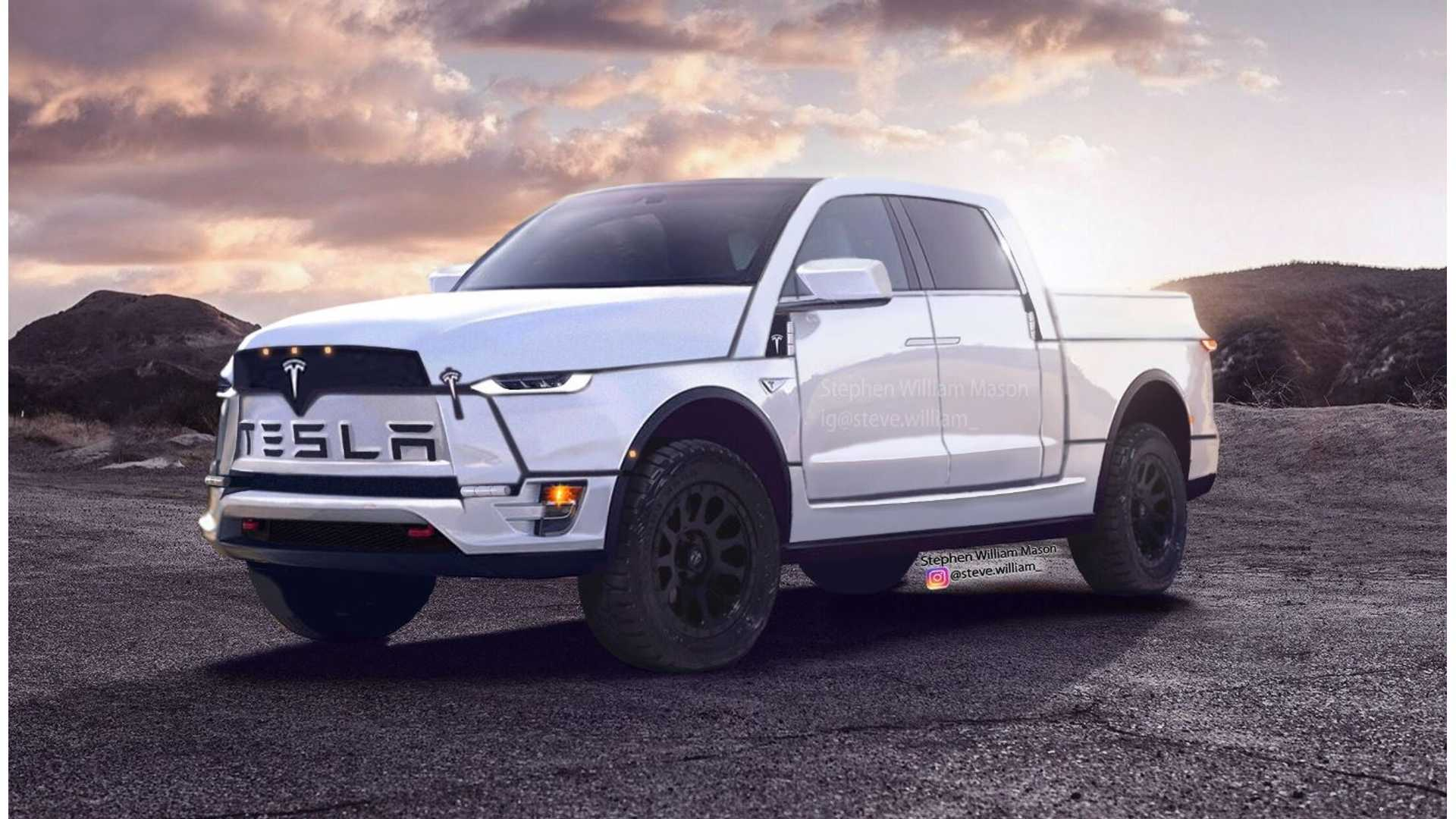 Tesla Announces Electric Pick-Up Truck That Will Cost Under $50,000 1