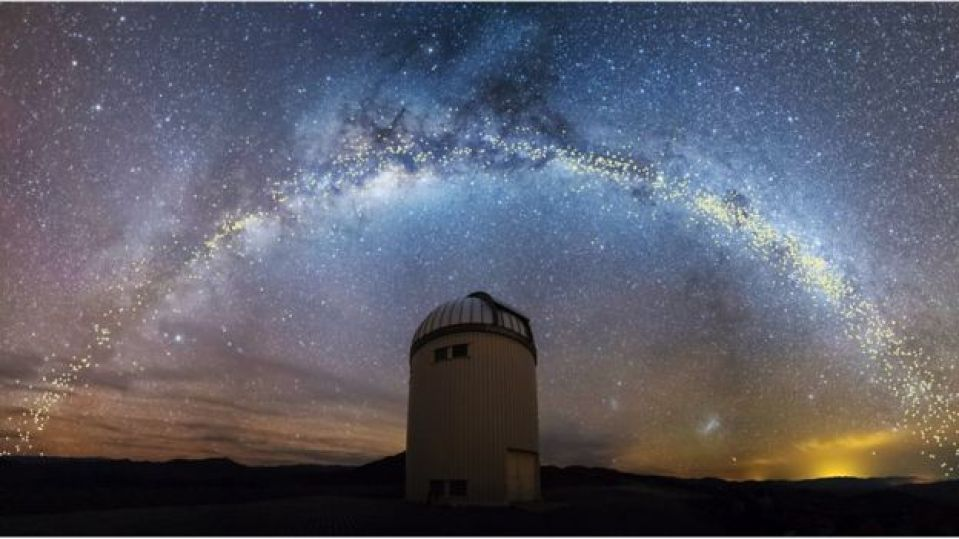 Milky Way galaxy is warped and twisted, not flat 7