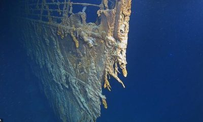 New high-resolution images of the Titanic show its deterioration 98