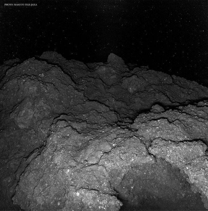 Closest Photo Of An Asteroid Ever Captured By Hayabusa 2 1