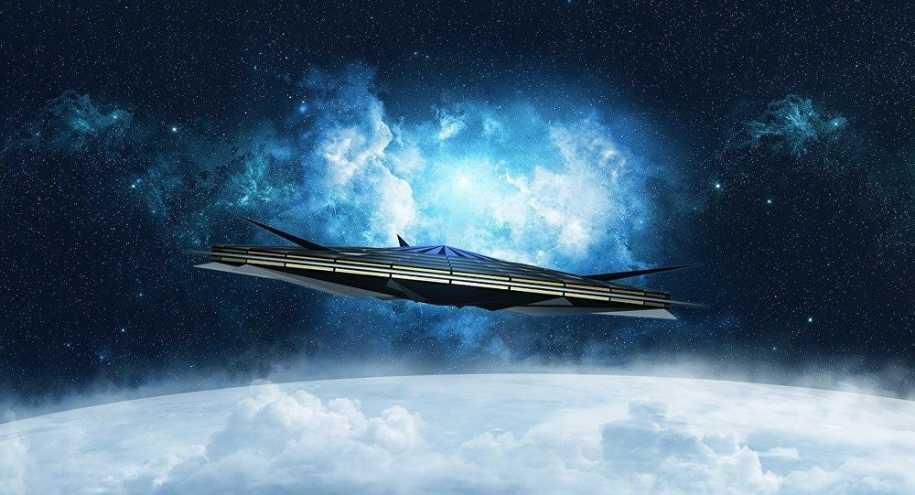 Video: Elon Musk's SpaceX satellite camera captures UFO around it! 12