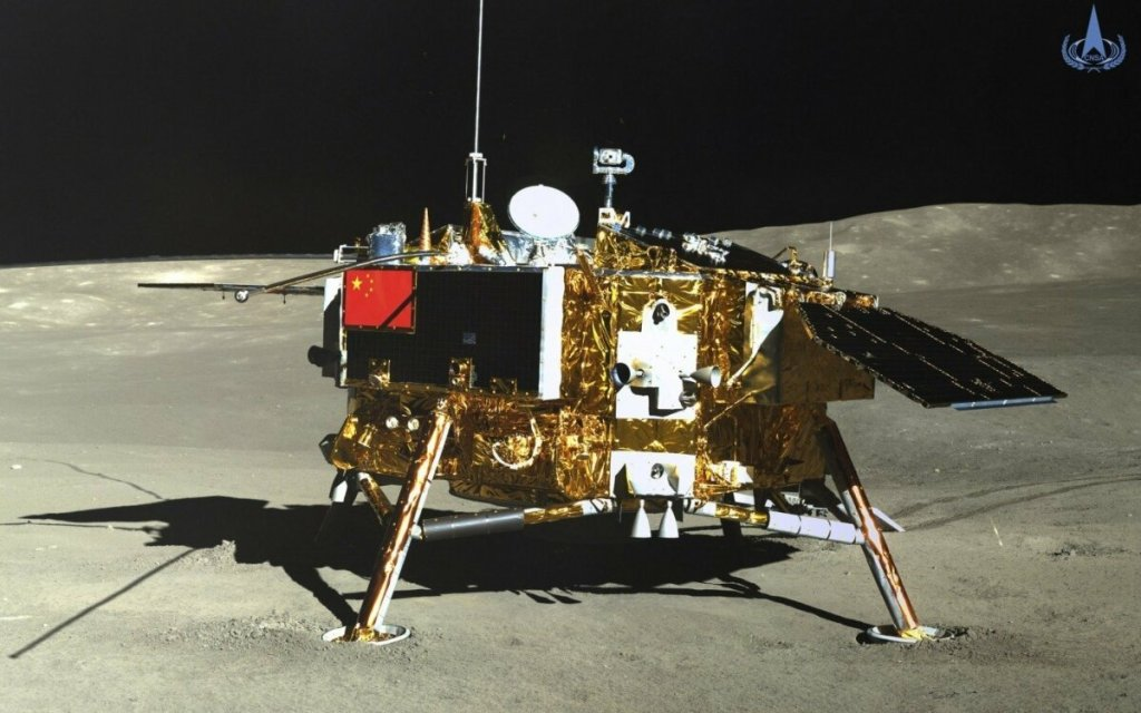 The Chinese lunar rover finds a strange substance in the moon's hidden face 14