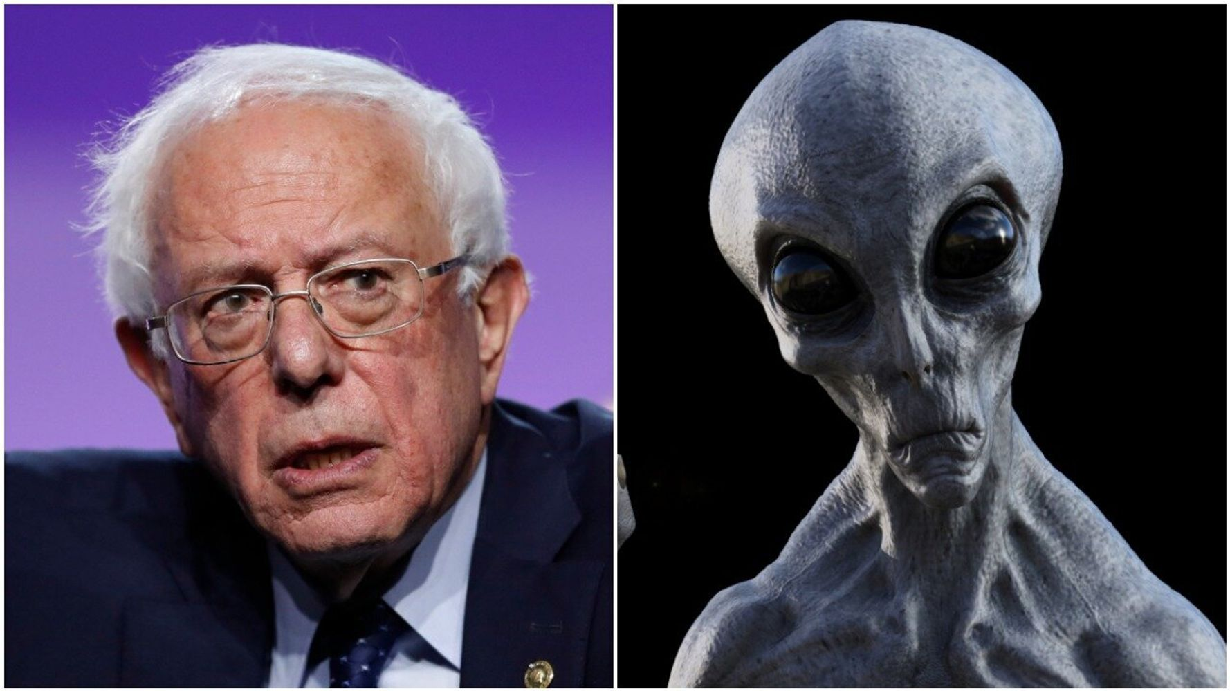 Bernie Sanders Says He'll Reveal The Truth About Aliens If Elected President 86
